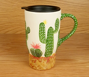 Kensington Cactus Travel Mug