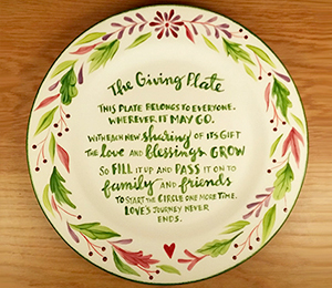 Kensington The Giving Plate