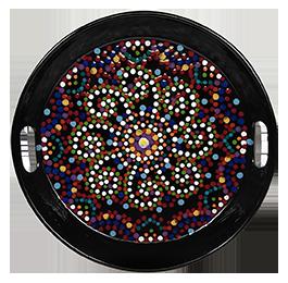Kensington Mosaic Mandala Tray