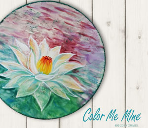 Kensington Lotus Flower Plate