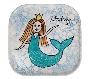 Kensington Mermaid Plate
