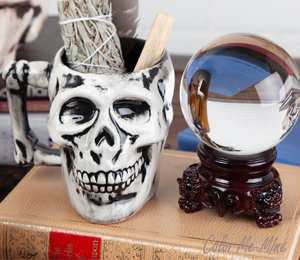 Kensington Antiqued Skull Mug