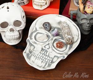 Kensington Vintage Skull Plate