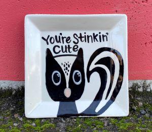 Kensington Skunk Plate