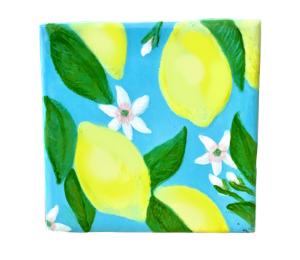Kensington Lemon Square Tile