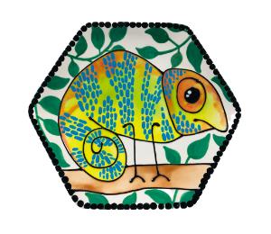Kensington Chameleon Plate