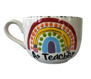 Kensington Polka Dot Rainbow Mug